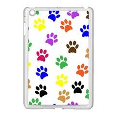 Pawprints Paw Prints Paw Animal Apple Ipad Mini Case (white)