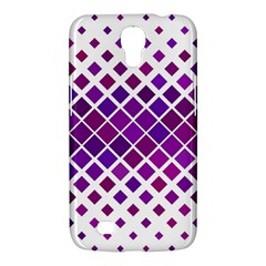 Pattern Square Purple Horizontal Samsung Galaxy Mega 6 3  I9200 Hardshell Case