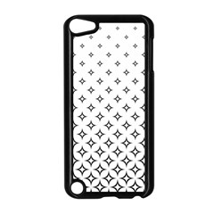 Star Pattern Decoration Geometric Apple Ipod Touch 5 Case (black)