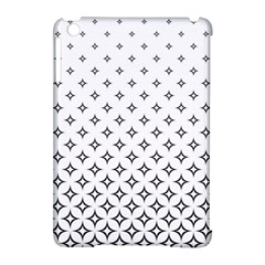 Star Pattern Decoration Geometric Apple Ipad Mini Hardshell Case (compatible With Smart Cover)