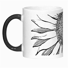 Sunflower Flower Line Art Summer Morph Mugs