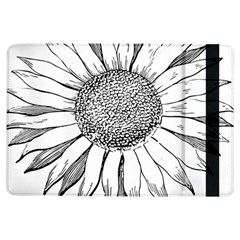 Sunflower Flower Line Art Summer Ipad Air Flip