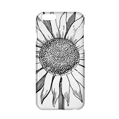 Sunflower Flower Line Art Summer Apple Iphone 6/6s Hardshell Case