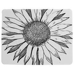 Sunflower Flower Line Art Summer Jigsaw Puzzle Photo Stand (rectangular)