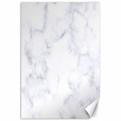 Marble Texture White Pattern Canvas 20  X 30