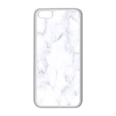 Marble Texture White Pattern Apple Iphone 5c Seamless Case (white)