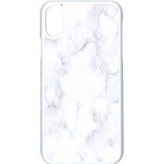 Marble Texture White Pattern Apple Iphone X Seamless Case (white)