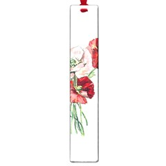 Flowers Poppies Poppy Vintage Large Book Marks