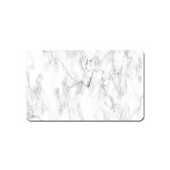 White Background Pattern Tile Magnet (name Card)