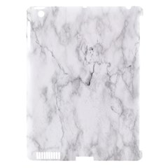 White Background Pattern Tile Apple Ipad 3/4 Hardshell Case (compatible With Smart Cover)
