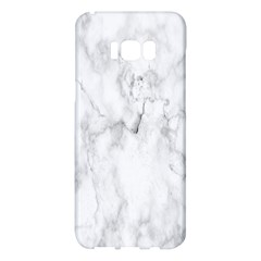 White Background Pattern Tile Samsung Galaxy S8 Plus Hardshell Case