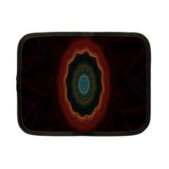 Cosmic Eye Kaleidoscope Art Pattern Netbook Case (small)