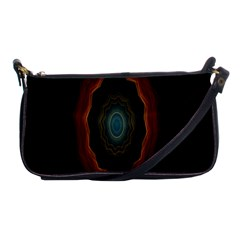 Cosmic Eye Kaleidoscope Art Pattern Shoulder Clutch Bags