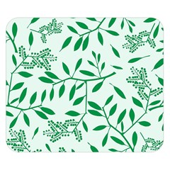 Leaves Foliage Green Wallpaper Double Sided Flano Blanket (small)