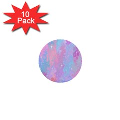 Space Psychedelic Colorful Color 1  Mini Buttons (10 Pack)