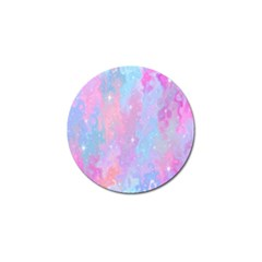 Space Psychedelic Colorful Color Golf Ball Marker (10 Pack)
