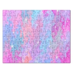 Space Psychedelic Colorful Color Rectangular Jigsaw Puzzl