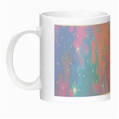 Space Psychedelic Colorful Color Night Luminous Mugs