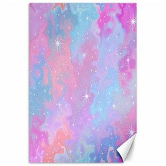 Space Psychedelic Colorful Color Canvas 24  X 36