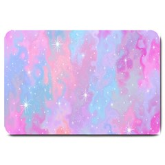 Space Psychedelic Colorful Color Large Doormat