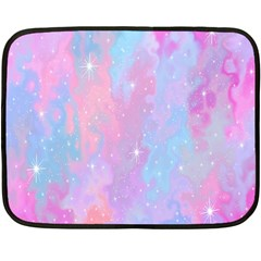 Space Psychedelic Colorful Color Fleece Blanket (mini)