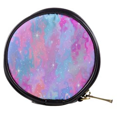 Space Psychedelic Colorful Color Mini Makeup Bags