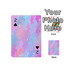 Space Psychedelic Colorful Color Playing Cards 54 (mini)