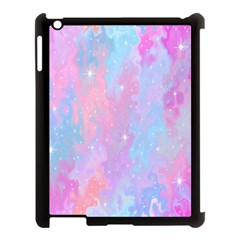 Space Psychedelic Colorful Color Apple Ipad 3/4 Case (black)