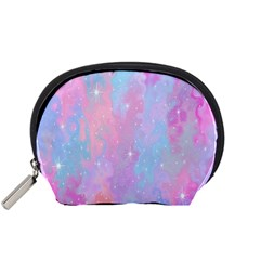 Space Psychedelic Colorful Color Accessory Pouches (small)