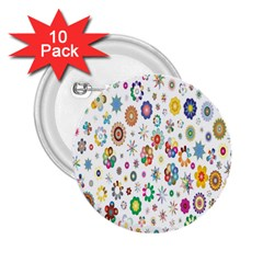 Design Aspect Ratio Abstract 2 25  Buttons (10 Pack)