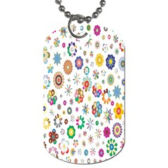 Design Aspect Ratio Abstract Dog Tag (one Side)