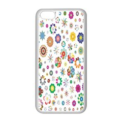 Design Aspect Ratio Abstract Apple Iphone 5c Seamless Case (white)