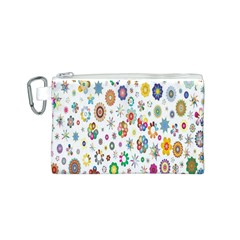 Design Aspect Ratio Abstract Canvas Cosmetic Bag (s)
