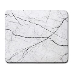 White Background Pattern Tile Large Mousepads