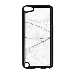 White Background Pattern Tile Apple Ipod Touch 5 Case (black)