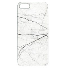 White Background Pattern Tile Apple Iphone 5 Hardshell Case With Stand