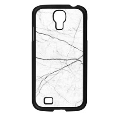 White Background Pattern Tile Samsung Galaxy S4 I9500/ I9505 Case (black)