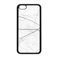 White Background Pattern Tile Apple Iphone 5c Seamless Case (black)