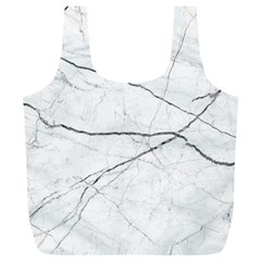 White Background Pattern Tile Full Print Recycle Bags (l)