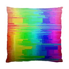 Colors Rainbow Chakras Style Standard Cushion Case (two Sides)