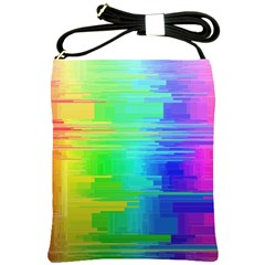 Colors Rainbow Chakras Style Shoulder Sling Bags