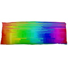 Colors Rainbow Chakras Style Body Pillow Case Dakimakura (two Sides)
