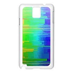 Colors Rainbow Chakras Style Samsung Galaxy Note 3 N9005 Case (white)