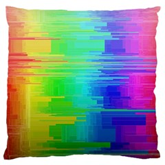 Colors Rainbow Chakras Style Standard Flano Cushion Case (two Sides)