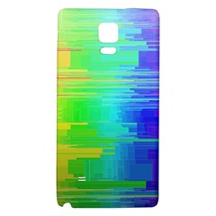 Colors Rainbow Chakras Style Galaxy Note 4 Back Case