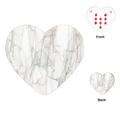 Background Modern Smoke Design Playing Cards (heart)
