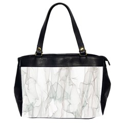 Background Modern Smoke Design Office Handbags (2 Sides)