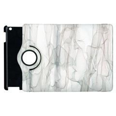 Background Modern Smoke Design Apple Ipad 3/4 Flip 360 Case