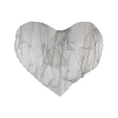 Background Modern Smoke Design Standard 16  Premium Heart Shape Cushions