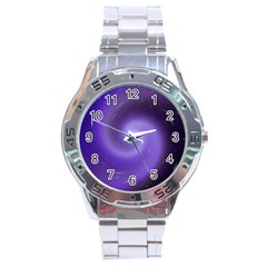 Spiral Lighting Color Nuances Stainless Steel Analogue Watch